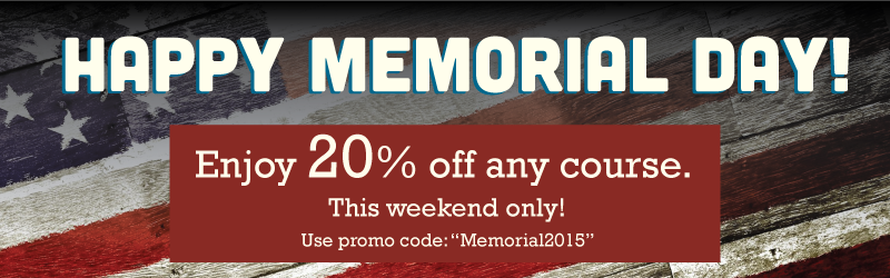 BlueVolt Memorial Weekend Sale