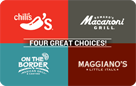 Brinker 4-Choice Gift Card